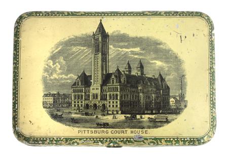 Court House Mixture Tobacco Tin
