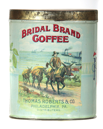 Bridal Brand Coffee Can