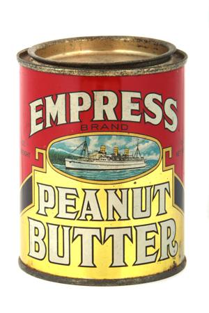 Empress Peanut Butter Tin