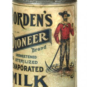 Borden's Pioneer Milk Tin