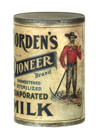 Borden's Pioneer Milk Tin