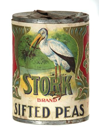 Stork Pea Tin