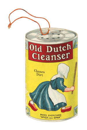 Old Dutch Cleanser Fan Pull