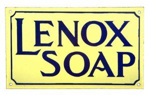 Lenox Soap Sign