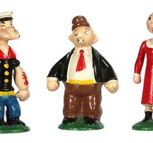 Iron Popeye Figures