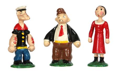 Iron Popeye Figures