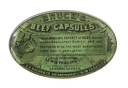 Bruce's Beef Capsules Tin