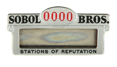Sobol Bros. Oil Co Badge