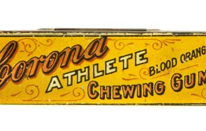 Corona Athlete Chewing Gum Tin