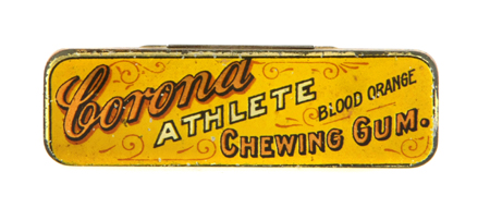 Corona Athlete Chewing Gum Tin
