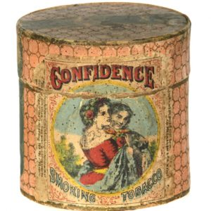 Confidence Tobacco Tin