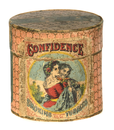 Confidence Tobacco Tin