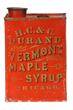 Durand Maple Syrup Tin