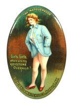 Keystone Overalls Pocket Mirror