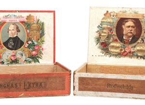 Vintage Political Cigar Boxes