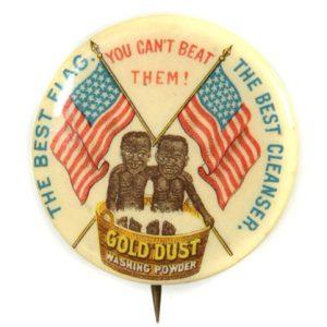Gold Dust Washing Powder Pinback