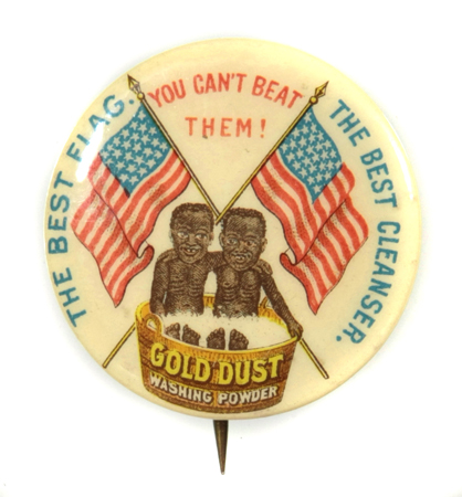 Gold Dust Washing Powder Pinback