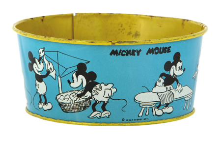 Mickey Mouse Toy Wash Tub