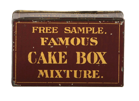 Cake Box Tobacco Tin
