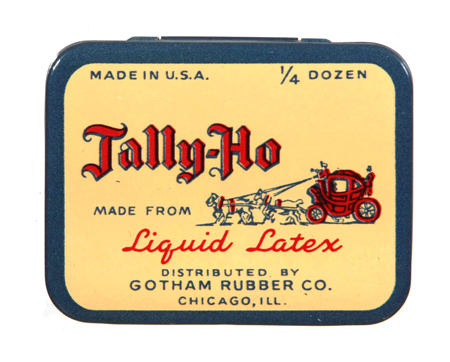Tally-Ho Condom Tin