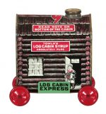 Log Cabin Syrup Express Tin