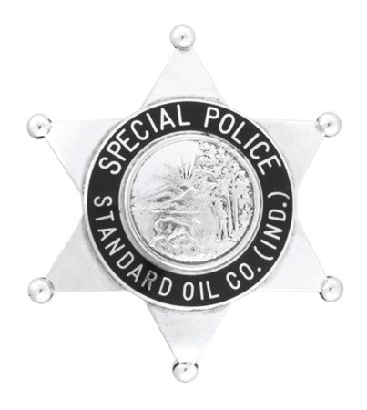 Standard Oil Co. Police Badge