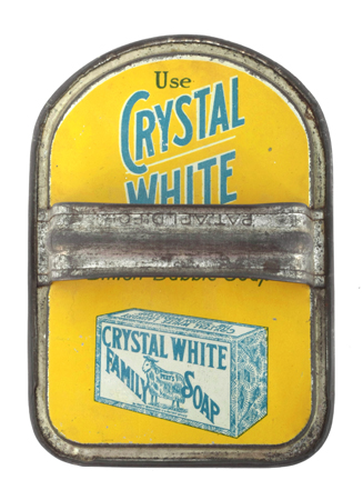 Crystal White Laundry Scrubber