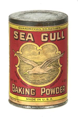 Sea Gull Baking Powder Tin