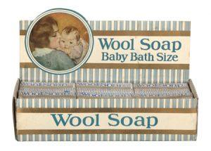 Wool Soap Display