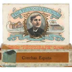 Phonograph Cigar Box