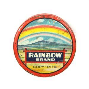 Rainbow Condom Tin