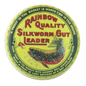 Raindow Quality Fishing Leader Tin