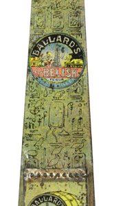 Ballard's Obelisk Flour Match Holder