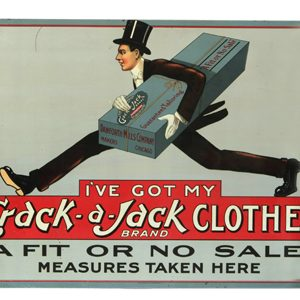 Crack-a-Jack Clothes Sign