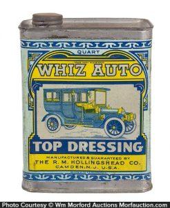 Whiz Auto Top Dressing Tin
