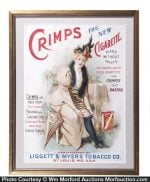 Crimps Cigarette Sign