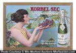 Korbel Sec Champagne Sign