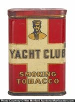 Yacht Club Tobacco Tin