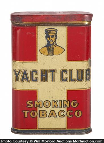 Yacht Club Tobacco Tin