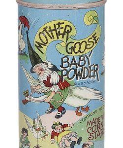 Mother Goose Baby Powder Tin