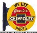 Genuine Chevrolet Parts Sign