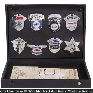 Salesman's Badges Kit