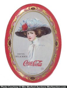 1910 Coca-Cola Tip Tray