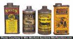 Vintage Car Polish Tins