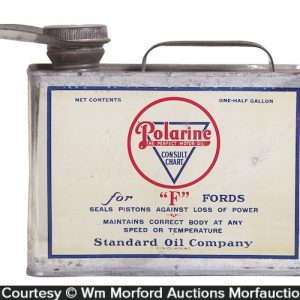 Polarine For Fords Oil Can