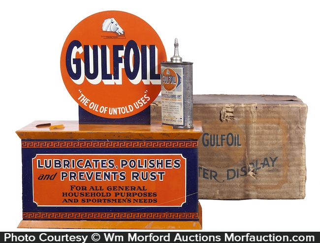Gulf Oil Display