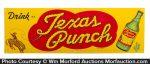 Texas Punch Soda Sign