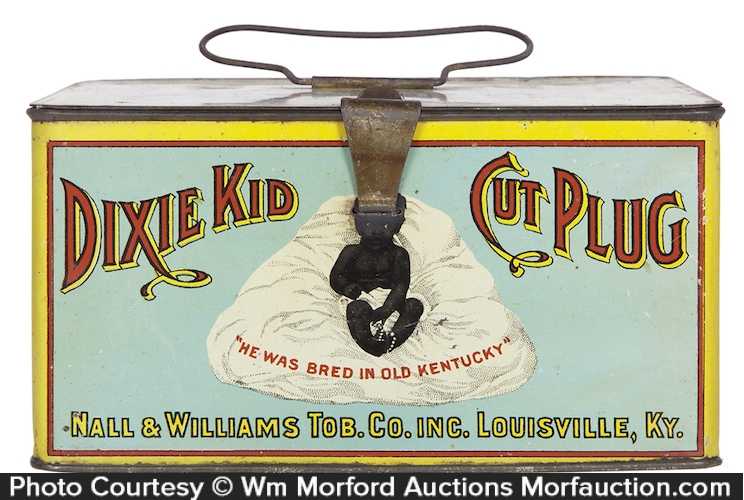 Dixie Kid Tobacco Pail