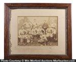 Pennsylvania Railroad Baseball Team Photo