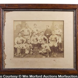 Pennsylvania Railroad Baseball Team Photo